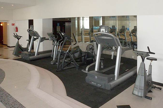 Suites Capri Reforma 410 Gym Fitness Center