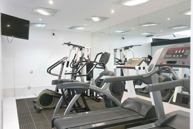 Suites Capri Polanco Fitness Center Gym